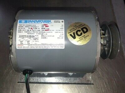 Marathon Electric Model 70m56t17d5346b General Purpose Motor 34 Hp 1725 Rpm