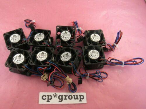 LOT OF 8 Delta FFB0412VHN 40x28mm 12V 0.24A 3-pin High Speed Server Cooling Fan