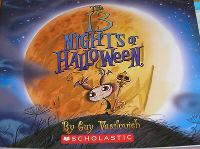 The 13 Nights of Halloween (Brand New Paperback Version) Guy Vasilovich - 13 Nights Halloween