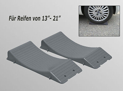 Standplatten KEIL Platten Reifenwiege Wheel Saver Reifenwiegen 2 Stück