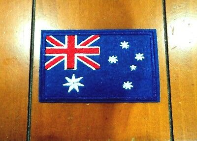 New Australia Flag  Embroidered Cloth Patch Applique Badge Iron Sew On Patches