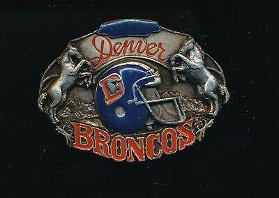 1987 SISKIYOU DENVER BRONCOS NFL FOOTBALL BELT BUCKLE /15,000 Denver Broncos Belt Buckle