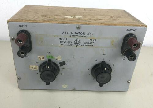 Hewlett-Packard HP Attenuator Set and Voltage Divider 350B -- 1940s vintage