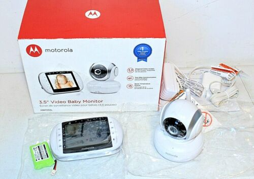 """Motorola 3.5"""" Video Baby Monitor, Two-Way Wi-Fi Infrared MBP33XL Complete in Box"""