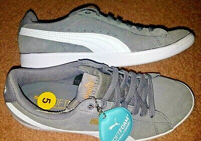 Brand New Puma Woman's Vikky Suede Soft Foam Shoes Size 7 1/2