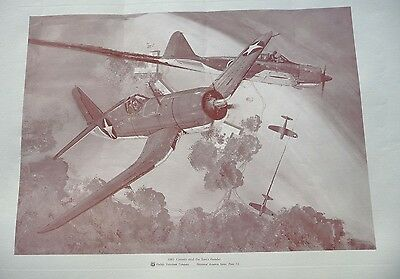 Marine Piloted American Fighter Chance Vought Corsair Pacific Whistling Death