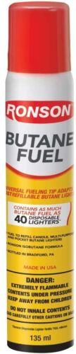 Ronson Multi-Fill Ultra Lighter Butane Fuel
