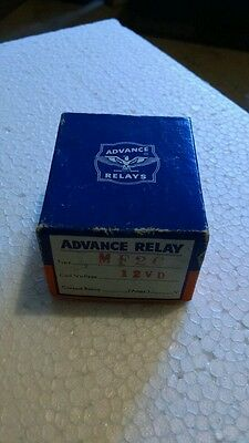Advance Relay Mf2c Coil Voltage12vd New