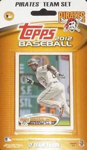2012 Topps Pittsburgh Pirates Factory Sealed Team Set Tabata McCutchen Barmes