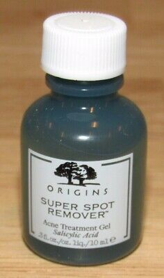 Origins Super Spot Remover Acne Treatment Gel 0.3 Oz 10 mL Full Size NWOB