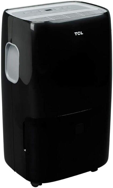 TCL 50 Pint 4,500 Sq. Ft. Dehumidifier w/ Built-in Pump - Black