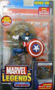 Marvel Legends Captain America Toy Biz