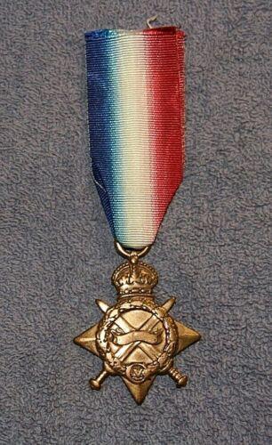 BRITISH 1914-1915 STAR MEDAL-NAMED