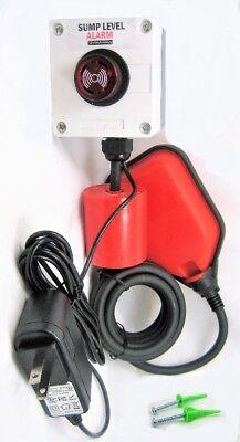 Indoor Outdoor Sump Pump Alarm 110 220 Vac Well Overflow Sewage Power Failure