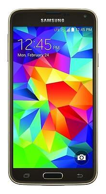 SAMSUNG GALAXY S5 SM-G900P Gold SMARTPHONE CLEAN ESN for SPRINT