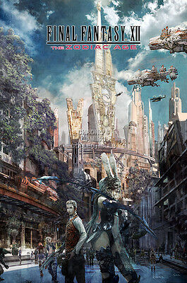 Rgc Huge Poster   Final Fantasy Xii The Zodiac Age Ps4   Ext942