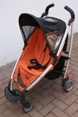 gesslein swift buggy mit regenschutz orange in niedersachsen fallingbostel kinderwagen. Black Bedroom Furniture Sets. Home Design Ideas