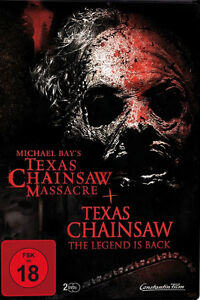 DVD * TEXAS CHAINSAW + MICHAEL BAYS TEXAS CHAINSAW MASSACRE ~ FSK 18 # NEU OVP =