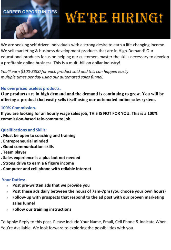 WE NEED HELP!! - GET PAID DAILY! | in Westminster, London | Gumtree