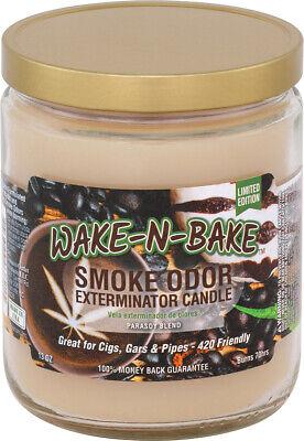 Wake N Bake Odor Exterminator 13 oz Jar Candle *TWO PACK*  Odor Exterminator Candle