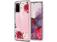 Brand new - CYRILL Ciel Spigen Galaxy S20 - Red Floral Phone Case Cover
