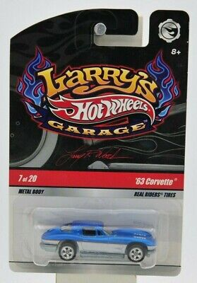 "Hot Wheels 2008 Larry's Garage '63 Corvette 7 of 20 ""NIP"""