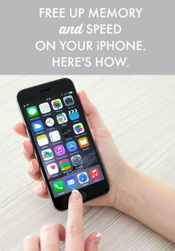 Free up ram iphone