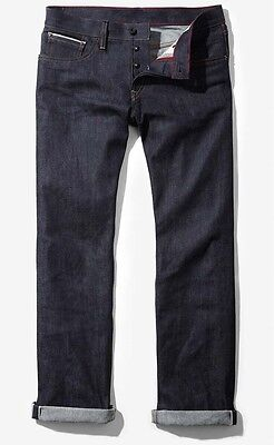 Express Limited Edition Raw Selvedge Denim Men's Slim Straight ...