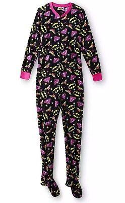 DC Comics Superhero Supergirl Footed Pajamas 1 PC NWT M L XL 1X or 2X LASTONE