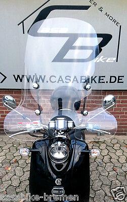 Roller Windschild-Windabweiser-Windschutz Retroroller Motorroller Scooter ZNEN