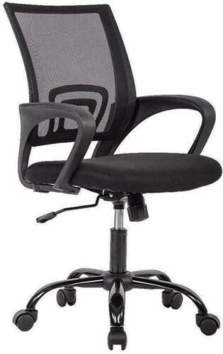 Ergonomic Mesh Swivel Chair Mid-back Computer Office Desk Ch