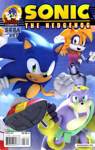 SONIC THE HEDGEHOG #257 - End of the World - New Bagged