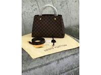 Louis Vuitton Leather handbag was £250 now £150 *LOOK*