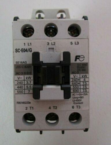 FUJI ELECTRIC FA  SC-E04/G CONTACTOR