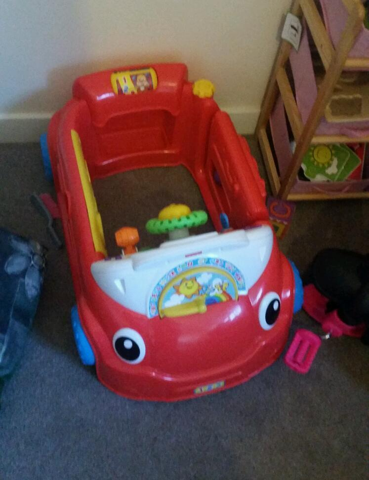 Fisher Price Crawl Around Activity Car In Stoke On Trent