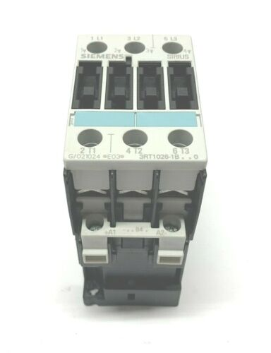 NEW SIEMENS 3RT1026-1B..0 SIRIUS CONTACTOR, 24VDC, 3RT1026-1BB40
