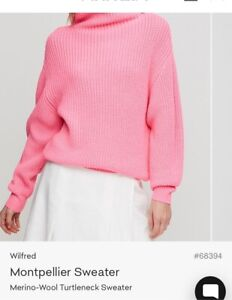 LOOKING FOR• WILFRED ARITZIA PINK SWEATER