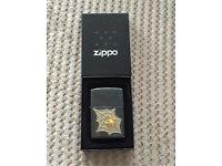 Zippo lighter golden web spider bnib RARE valentines gift