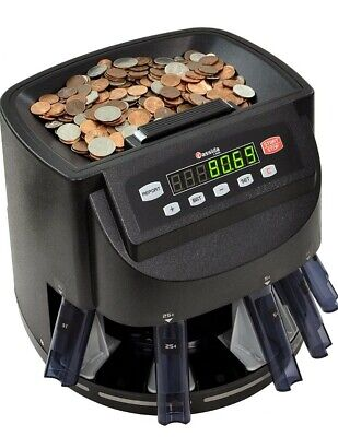 Cassidy C200 Coin Sorter Counter And Roller