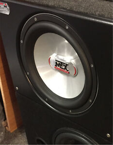 ^** MTX SLUDGE HAMMER SUBWOOFER IN BASS SLAMMER PORTED BOX