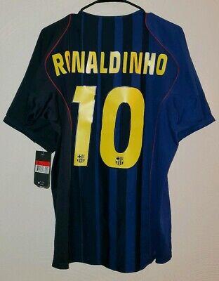 95d6fa1d75d Nike Barcelona Ronaldinho 04 05 Third Jersey   Shirt - (Size L)  NWT
