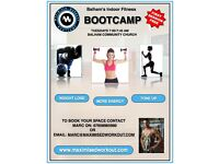 BALHAM'S FUN INDOOR BOOTCAMP! LOSE FAT, TONE UP & GET FIT!
