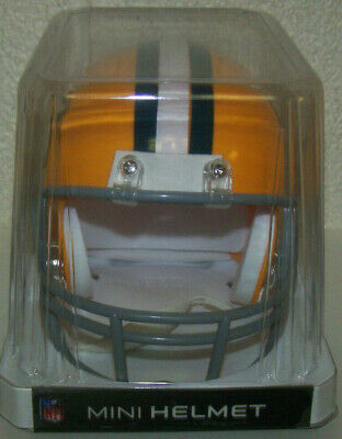 Green Bay Packers NFL VSR4 Style Mini Helmet Throwback - Green Bay Helmets