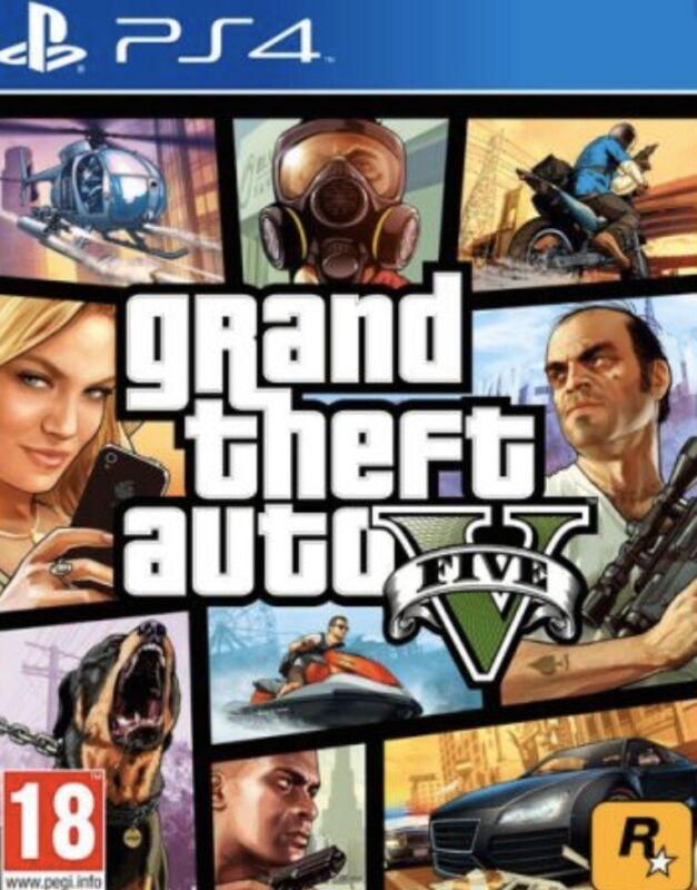 GTA 5 SHARK CARD PS4 Grand Theft Auto V Online 5,000,000$ (READ ALL DESCRIPTION)