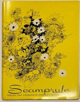 Rare 1965 Seamprufe Lingerie Salesman Catalog Swatch Gowns Slips Panties Sexy