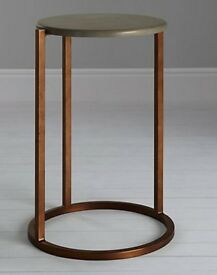 John Lewis Asha Side Table NEW Ex-Display SLIGHT MARK