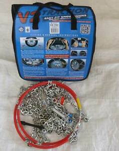 V2 TRACTION 4WD SNOW CHAINS - Sizes KB391 to KB474 Selby Yarra Ranges Preview