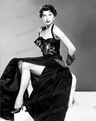 8x10 Print Ava Gardner Beautiful Fashion Portrait #1785