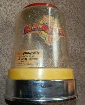 1950s JAW TEASERS PENNY GUMBALL MACHINE