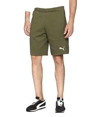 Puma Men's Evostripe Ultimate Shorts Training Trousers New Olive Night Green XL